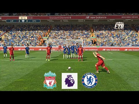 LIVERPOOL Vs CHELSEA | 4 - 3 | FULL MATCH & GAMEPLAY | PES 2019