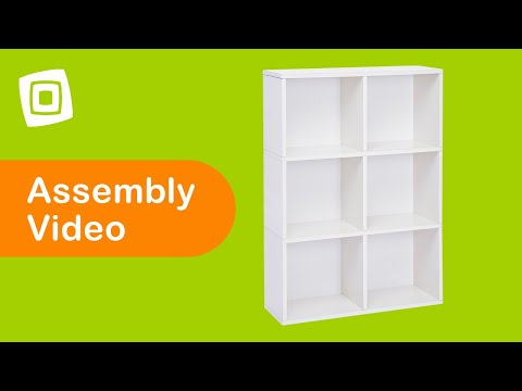 Video for Eco Friendly White Modular Storage Tribeca Shelf