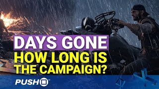 Days Gone: How Long Will It Take to Beat? | PlayStation 4 | PS4 Pro Gameplay Footage