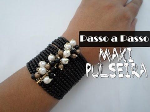Maxi Pulseira Negra