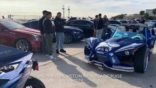 9. SLINGSHOT HOUSTON New Year Day Cruise 2019