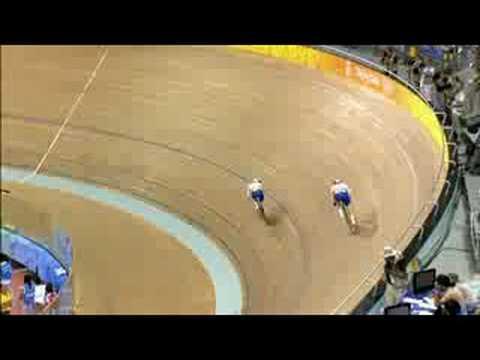 スプリント   自転車   オリンピ...