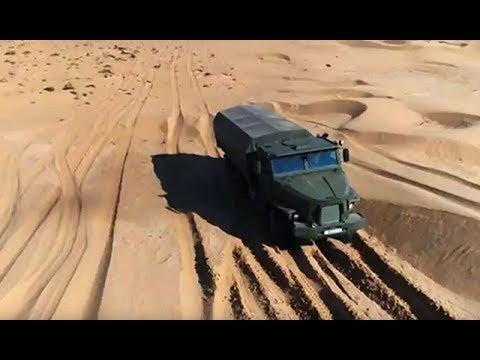 Военная приемка. На колесах в броне по пустыне. Часть 2 - DomaVideo.Ru