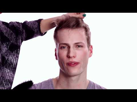 Frisuren-Anleitung für Männer: Fifties-Tolle
