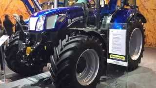 Traktor New Holland T6.160 Auto Command, Agritechnica 2015