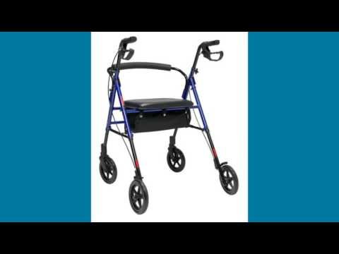 Lumex® Set n' Go Height Adjustable Rollator