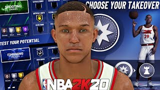 NBA 2K20 - Shawn Harris RETURNS! Creating The BEST Build! DROPPED 40 Points On CURRY & DLO!
