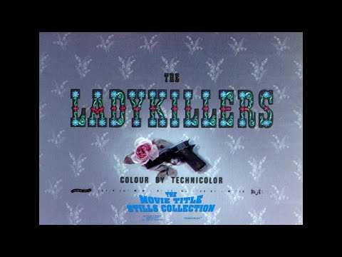 The Ladykillers (1955) title sequence