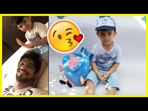 Arjun Bijlani and Son's Adorable Moments Captured
