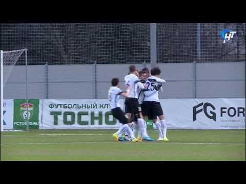 Футбольный клуб «Тосно» сократил отставание от лидера первенства ФНЛ «Динамо» до двух очков