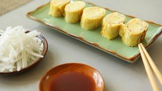 Tamagoyaki (Japanisches gerolltes Omelett)
