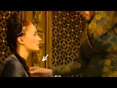 GAME OF THRONES Queen Of Thorns (the Moment She Grabs The Strangler Off Sansa Neck)