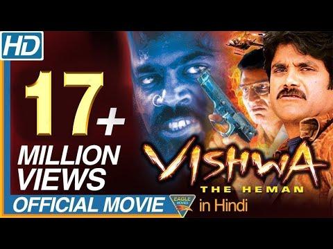 Vishwa the Heman Hindi Dubbed Latest Full Movie    Nagarjuna, Shriya Saran    Eagle Hindi Movies
