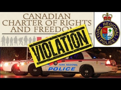 How many times can York Regional Police deny you a lawyer? I counted six by Const. Orshansky