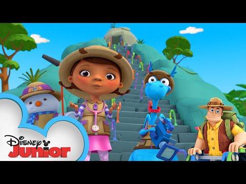 Steppe by Steppe | Doc McStuffins Ultimate Safari | Disney Junior