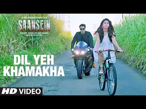 DIL YEH KHAMAKHA Video Song | SAANSEIN | Rajneesh