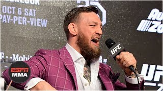 Video [FULL] Conor McGregor vs Khabib Nurmagomedov press conference for UFC 229 | ESPN MP3, 3GP, MP4, WEBM, AVI, FLV Februari 2019