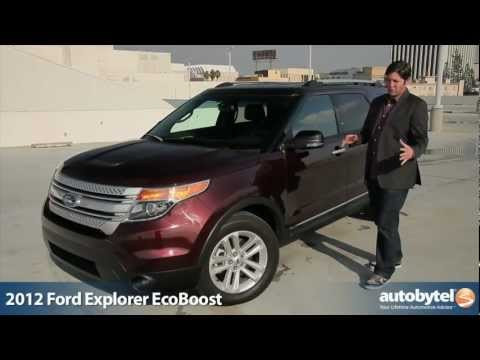 2012 Ford Explorer EcoBoost: Video Road Test and Review