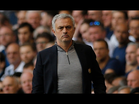 José Mourinho defends rotation policy after Tottenham defeat – video