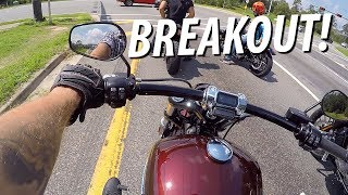 8. First Ride on a 2018 Harley Davidson Breakout 114