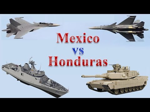 Mexico vs Honduras Military Power 2017