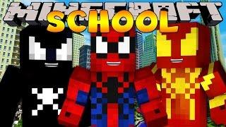 Minecraft School : HOW TO BE A SUPERHERO!