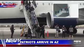 FOX 10 News Now - East Coast Blizzard, AZ Rain, Patriots Arrive in Phoenix for Super Bowl
