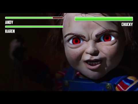 Chucky vs. Andy WITH HEALTHBARS   Final Battle   HD   Child's Play (2019)
