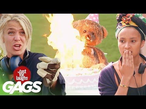 Laugh Compilation: Best of Destructive  Pranks!