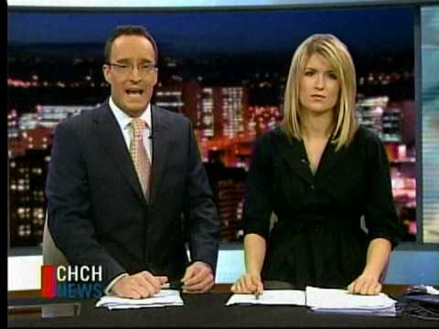 CHCH Anchor Nick Dixon cracks up over Boy George report