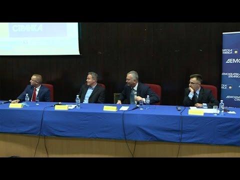 ДС избори: Прва дебата председничких кандидата – ДС као стожер опозиције (8.9.2016)