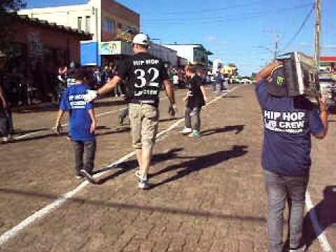 Desfile em Salto do Jacuí - LJB CREW 2012 HIP HOP
