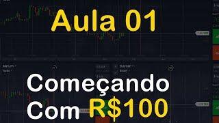 Aula 01 -Começando Do Zero Na IQ Option - Com R$100