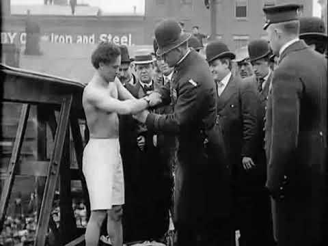 1908 Harry Houdini