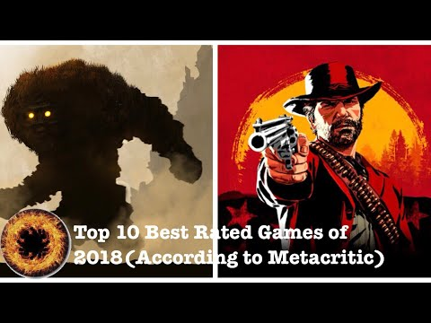 Top 10 Best Rated Games Of 2018(According To Metacritic)