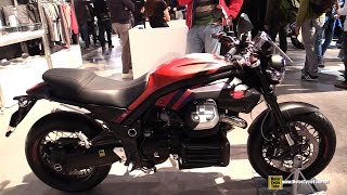 9. 2015 Moto Guzzi Griso 1200 8V - Walkaround - 2014 EICMA Milan Motorcycle Exhibition
