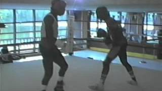 Sugar Ray Leonard Sparring