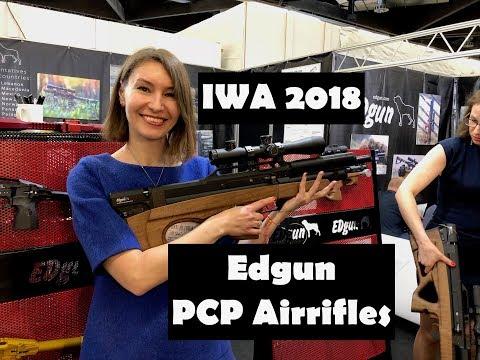 IWA 2018 - Edgun PCP Airrifles (видео)