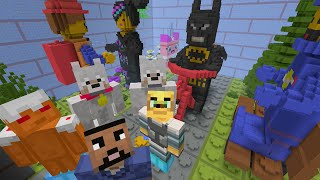 Minecraft Xbox - Hide and Seek - THE LEGO MOVIE!