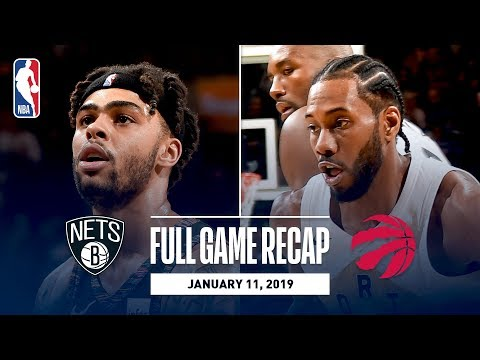 Video: Full Game Recap: Nets vs Raptors | Kawhi Leads Balanced Attack