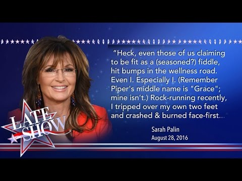 Sarah Palin Crashes & Burns