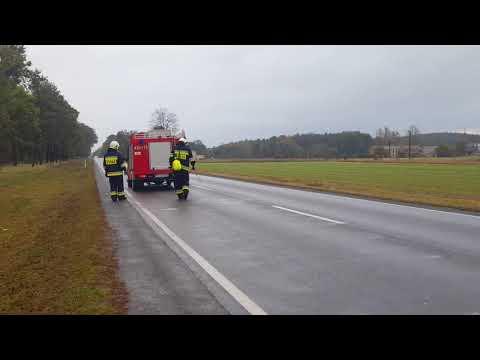 Wideo1: Plama oleju na krajowej 12