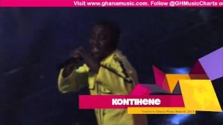 Kontihene - Peforming 'Aketesia' @ VGMA 2013 | GhanaMusic.com Video