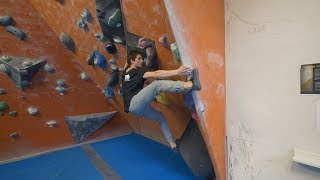 Classic Climbing - Emil Crushes Then Gets Crushed by Eric Karlsson Bouldering