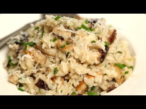 Mushroom Risotto | Rice Recipes – Italian Cuisine | Ruchi's Kitchen
