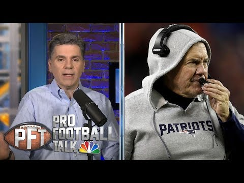 Video: Anniversary of Bill Belichick firing in Cleveland | Pro Football Talk | NBC Sports