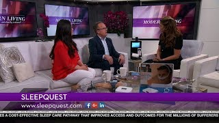 SleepQuest featured on Modern Living with Kathy Ireland®