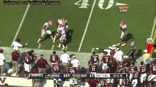 Johnny Manziel vs Florida (2012)