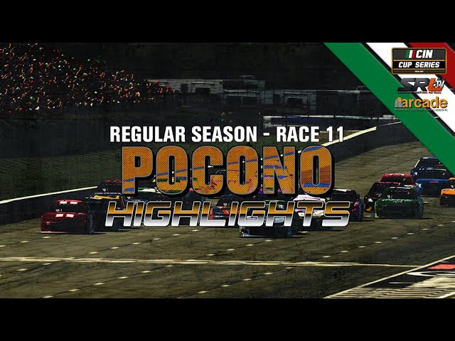 CIN CUP SERIES 2020 Gara 11 Car Man Simulatori Pocono 200 Highlights