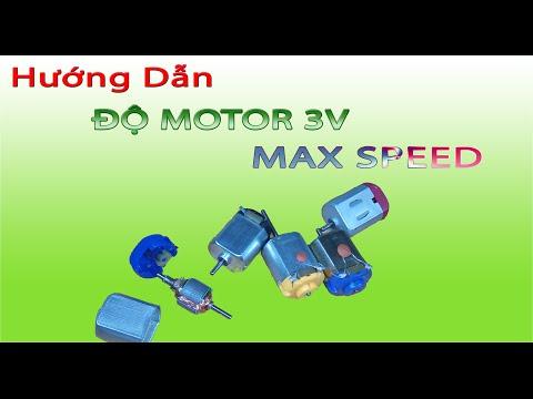 Hướng dẫn ĐỘ Motor 3V Max speed, cách độ motor trong xe điều khiển lên tốc độ cực cao - Thời lượng: 16:38.